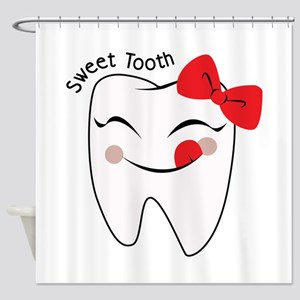 Sweet Tooth Shower Curtain