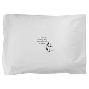 FIN-kitchen-cat Pillow Sham