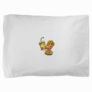 FIN-fast-food-meal Pillow Sham