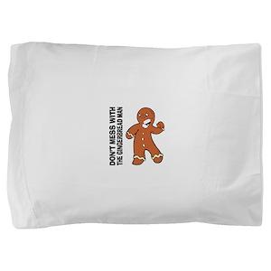 FIN-gingerbread-man Pillow Sham