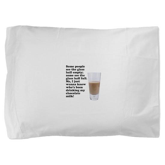 FIN-chocolate-milk.png Pillow Sham