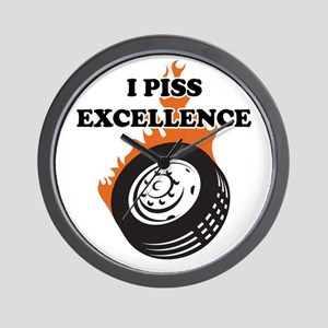 I Piss Excellence Wall Clock