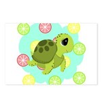 Summertime Sea Turtle Postcards (Package of 8)