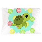 Summertime Sea Turtle Pillow Case