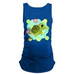 Summertime Sea Turtle Maternity Tank Top
