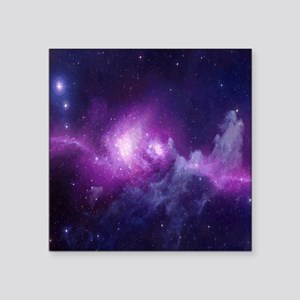 "Milky Way Square Sticker 3"" x 3"""