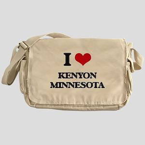 I love Kenyon Minnesota Messenger Bag