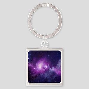 Milky Way Square Keychain