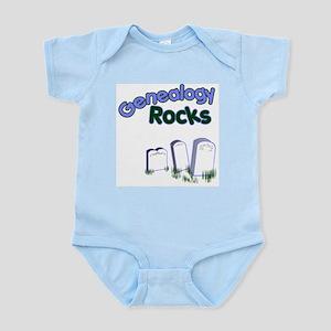 Genealogy Rocks Body Suit
