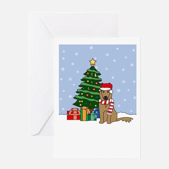 Belgian Tervuren Christmas Greeting Card