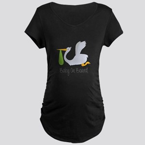 Baby On Board Maternity T-Shirt
