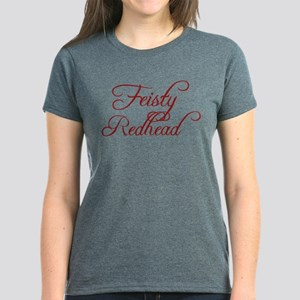 Feisty Redhead Women's Dark T-Shirt