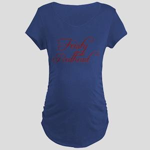 Feisty Redhead Maternity Dark T-Shirt