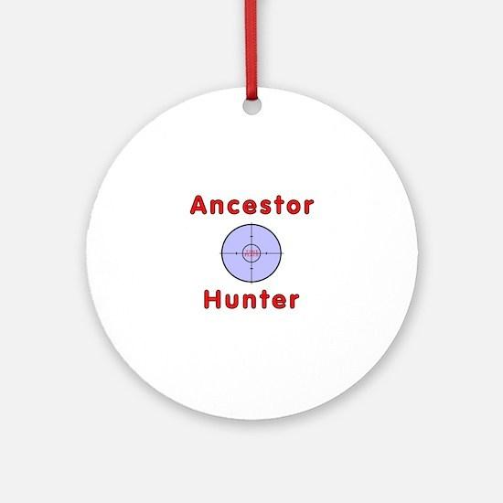 Ancestor Ornament (Round)