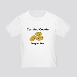 Certified Cookie Inspector Toddler T-Shirt