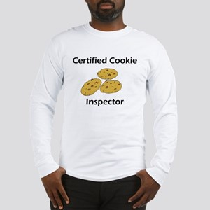 Certified Cookie Inspector Long Sleeve T-Shirt
