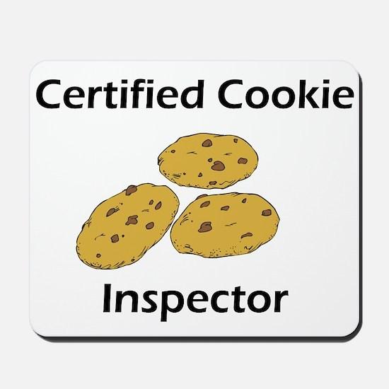 Certified Cookie Inspector Mousepad