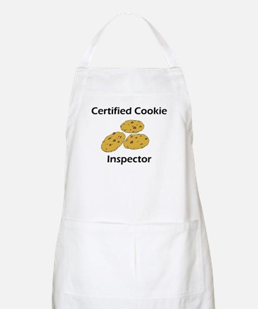 Certified Cookie Inspector BBQ Apron