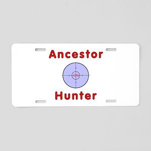 Ancestor Aluminum License Plate