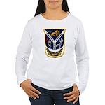 USS JESSE L. BROWN Women's Long Sleeve T-Shirt