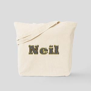 Neil Gold Diamond Bling Tote Bag