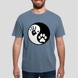 Human & Dog Yin Yang T-Shirt