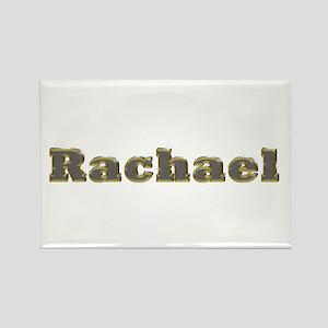 Rachael Gold Diamond Bling Rectangle Magnet