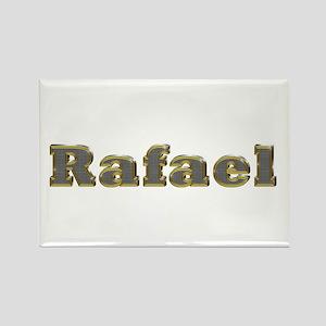 Rafael Gold Diamond Bling Rectangle Magnet
