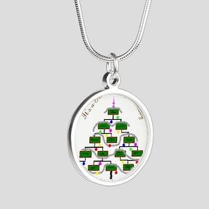 Genealogy Christmas Tree Necklaces