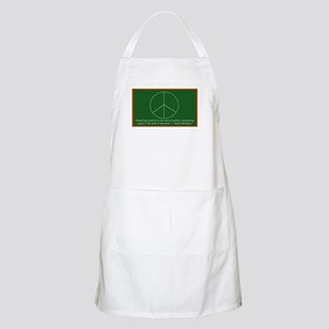 Montessori Peace Quote BBQ Apron