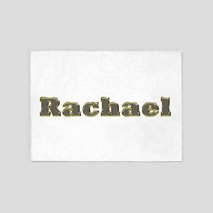 Rachael Gold Diamond Bling 5'x7' Area Rug