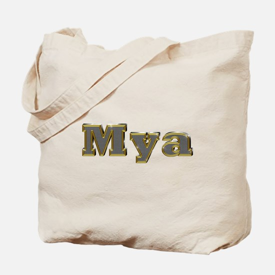 Mya Gold Diamond Bling Tote Bag