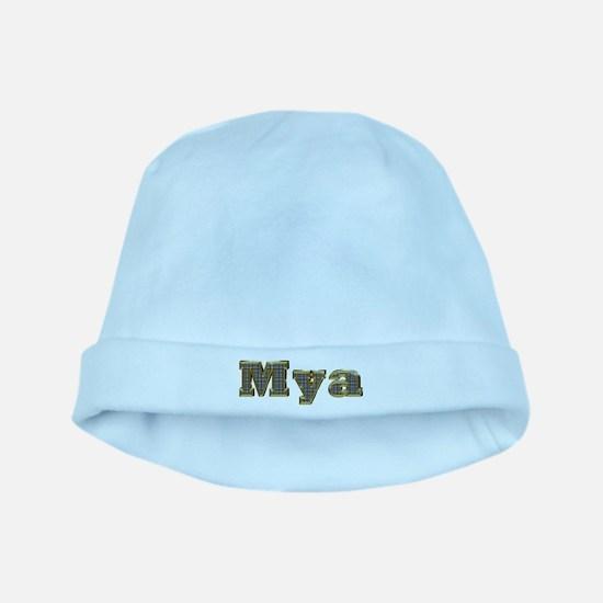 Mya Gold Diamond Bling baby hat