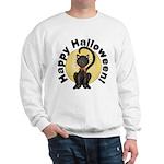 Black Cat Full Moon Sweatshirt