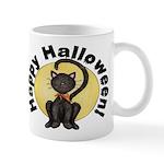 Black Cat Full Moon Mug