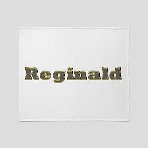 Reginald Gold Diamond Bling Throw Blanket