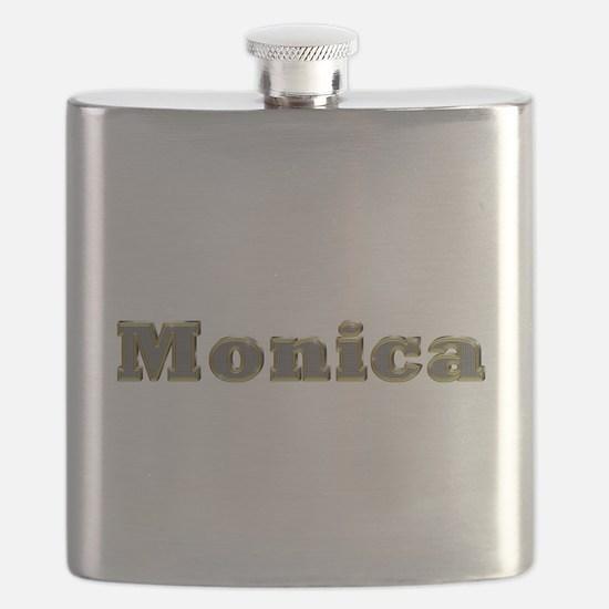 Monica Gold Diamond Bling Flask