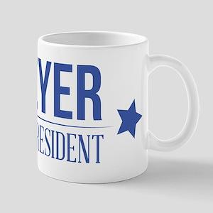 Meyer For President Blue Mugs