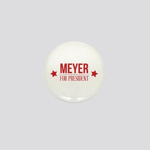 Meyer For President Red Mini Button