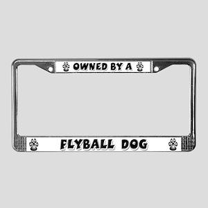 Flyball License Plate Frame
