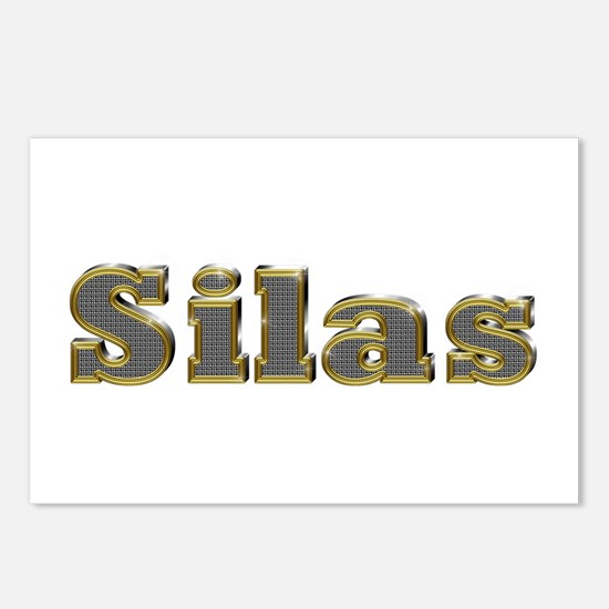 Silas Gold Diamond Bling Postcards 8 Pack