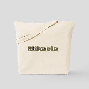 Mikaela Gold Diamond Bling Tote Bag