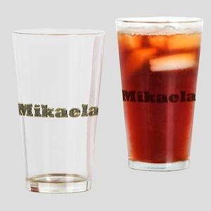 Mikaela Gold Diamond Bling Drinking Glass