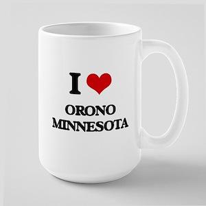I love Orono Minnesota Mugs