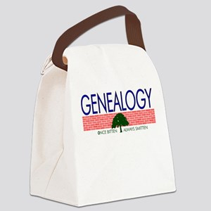 Genealogy Bug Canvas Lunch Bag