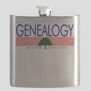 Genealogy Bug Flask