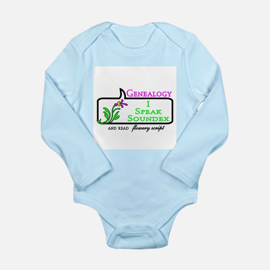 Genealogy Humor Soundex Body Suit