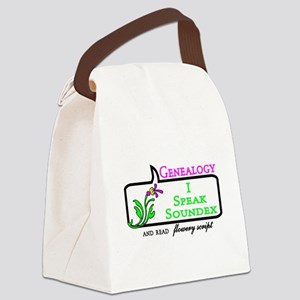 Genealogy Humor Soundex Canvas Lunch Bag