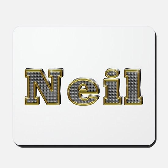 Neil Gold Diamond Bling Mousepad
