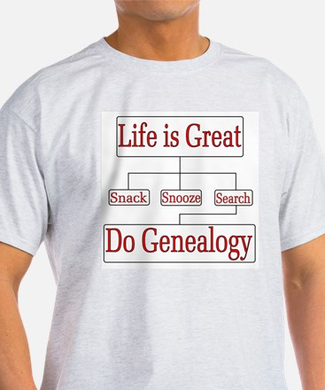 Do Genealogy Char T-Shirt